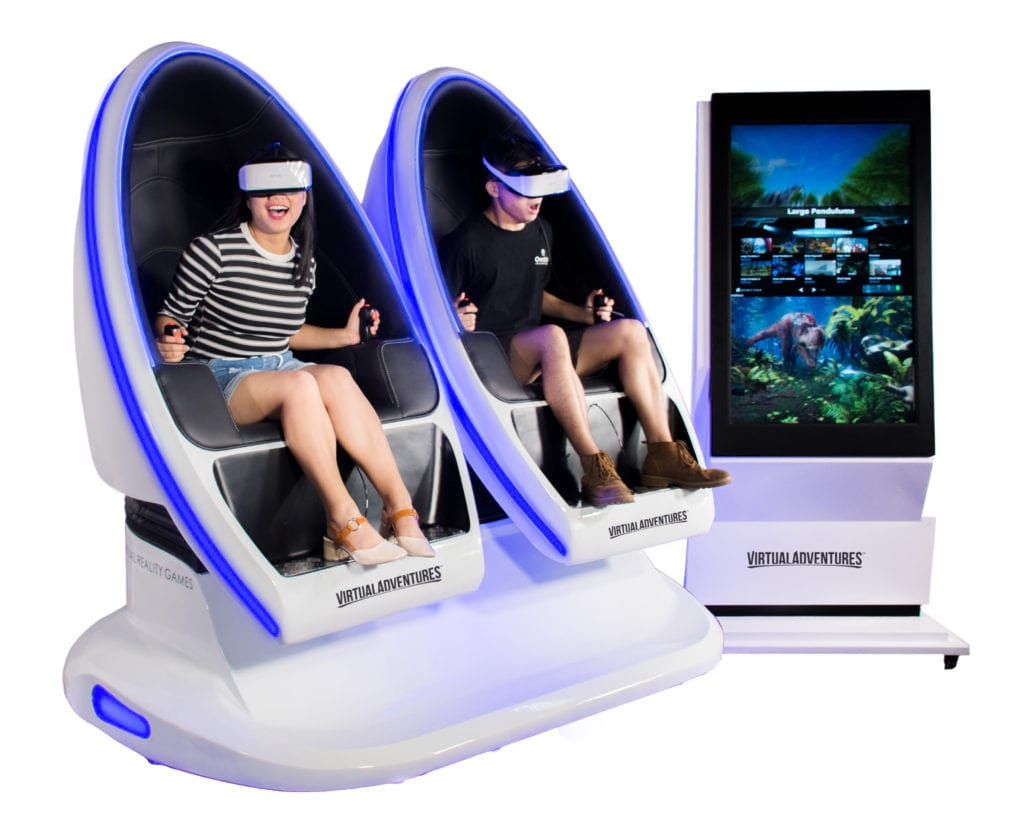 Virtual Reality Game Machines