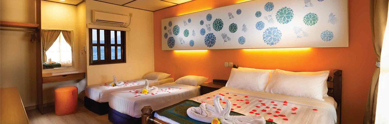 Hotels in Pulau Tioman-standard chalet