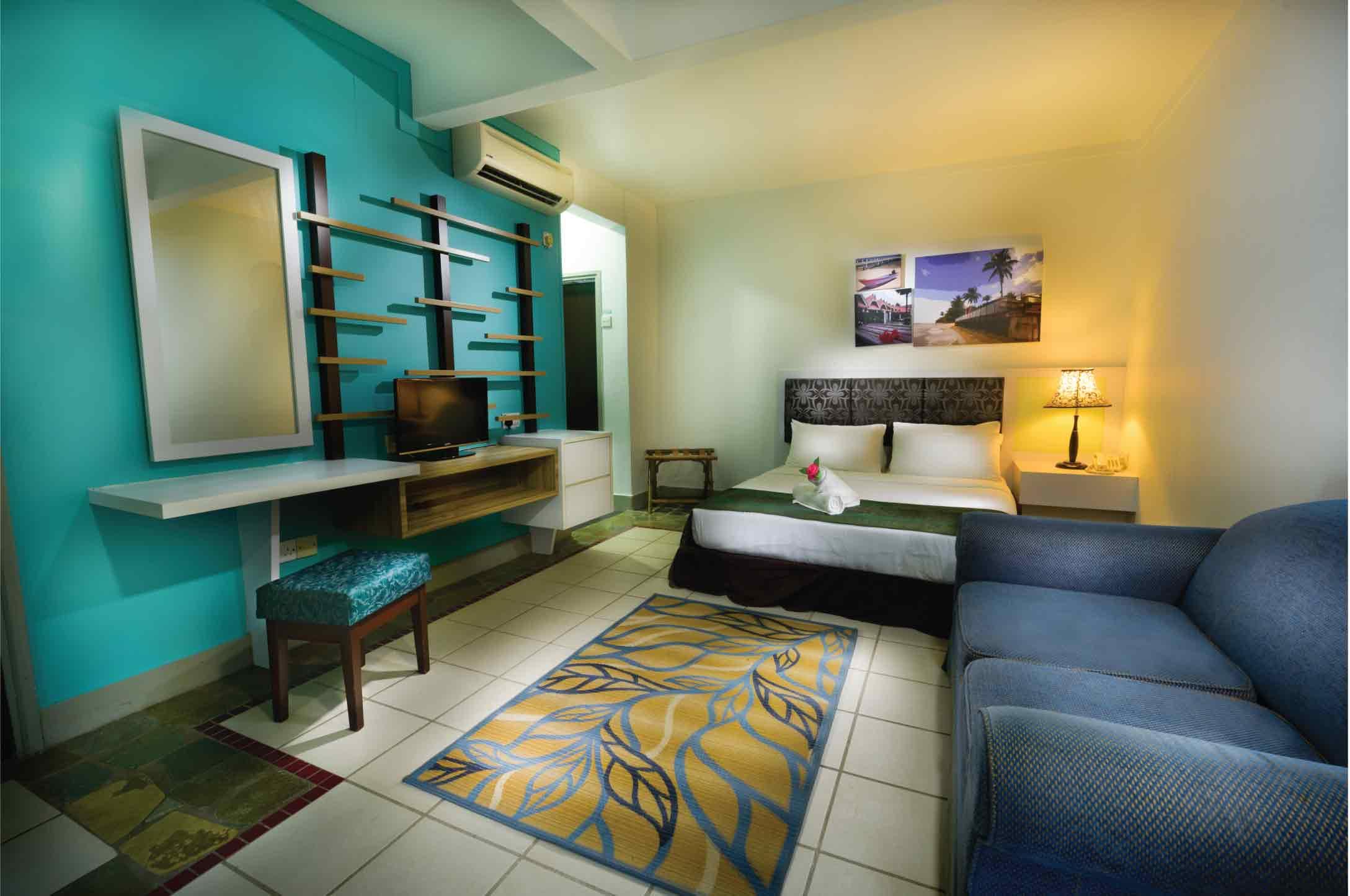 Resort in tioman-superior chalet