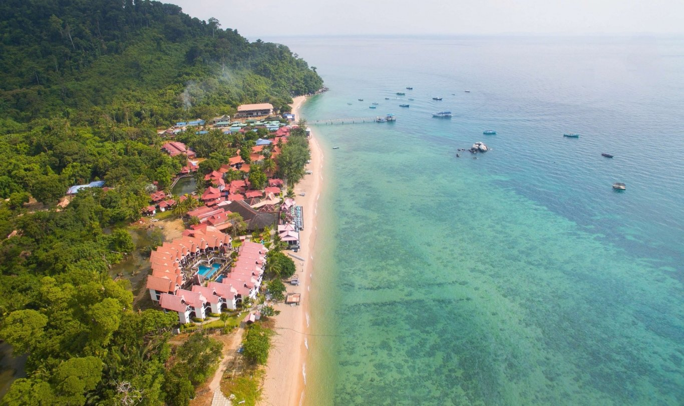 Tioman Island trekking- activities at paya beach resort